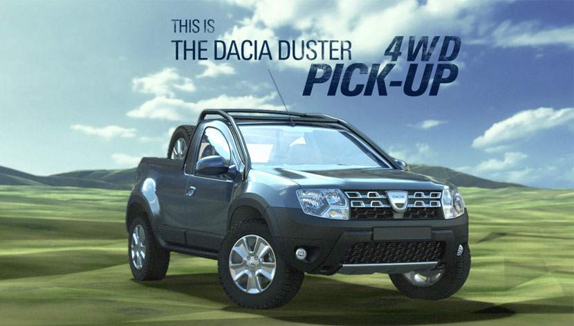 OMV Petrom – Dacia Duster Pick-up