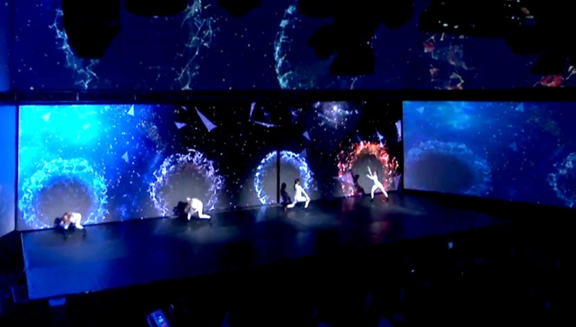 NTT Data – Interactive Dance Performance